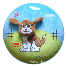 plush cartoon animal dog cushion